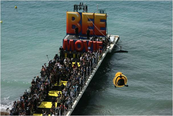 bee-movie-cannes-publicity-stunt