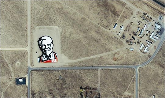 KFC from space