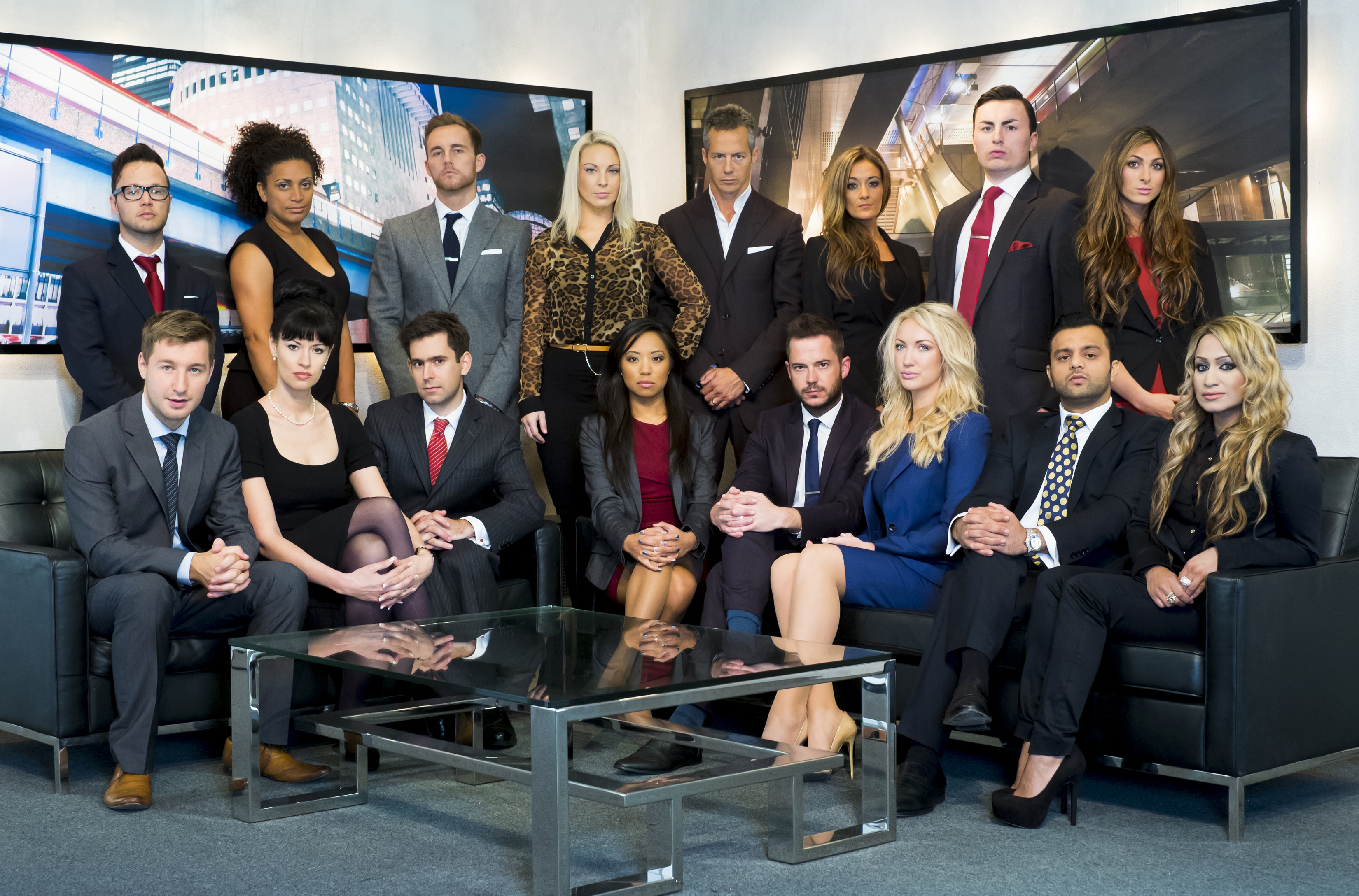 The Apprentice Series 9 - Candidate group shot - Immediate Release
