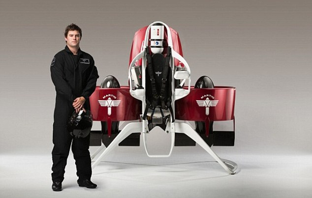prototype P12 Martin jetpack CREDIT Lee Howell