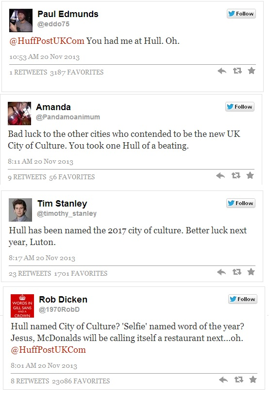 hull twitter reacts