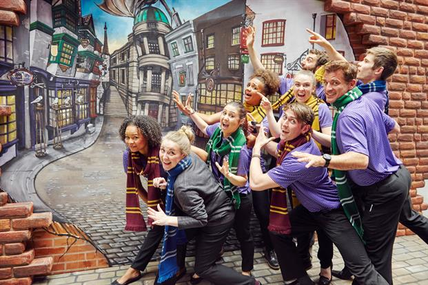 Kings Cross' Diagon Alley Art Installation Image (c) Event Magazine