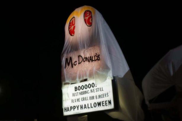 McDonalds Burger King 1