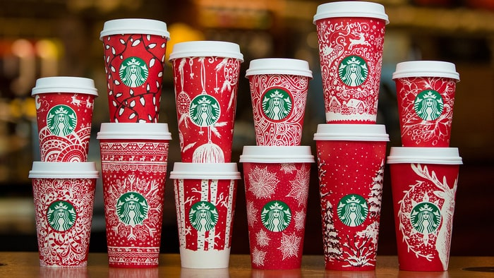 Christmas round up Starbucks